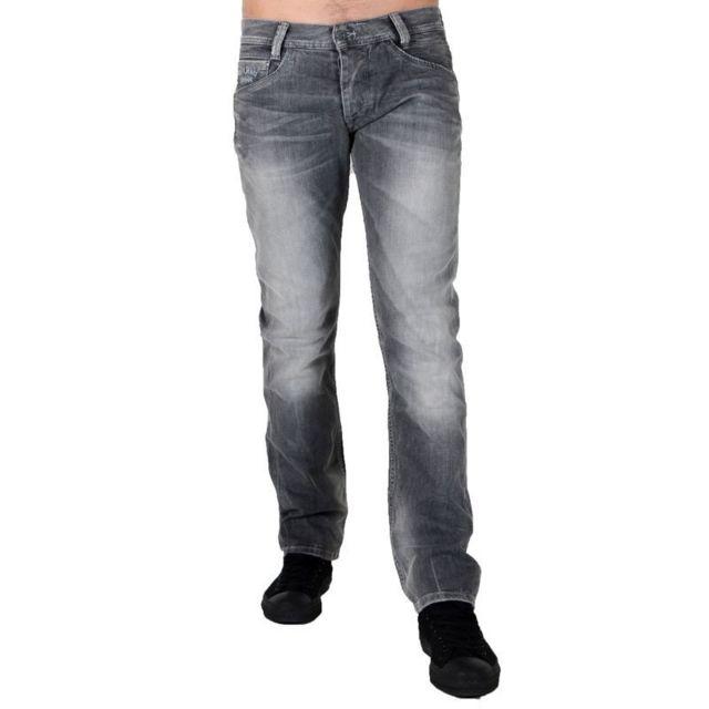 Pepe Jeans - Jeans Spike Pm2000029X72 Gris Foncé 31 34 - pas cher ... 2cbe1b60425a