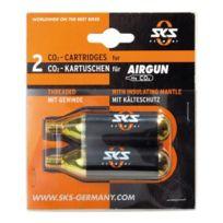 Sks - Cartouches Co2 AirGun 16 g filetées 2 unités