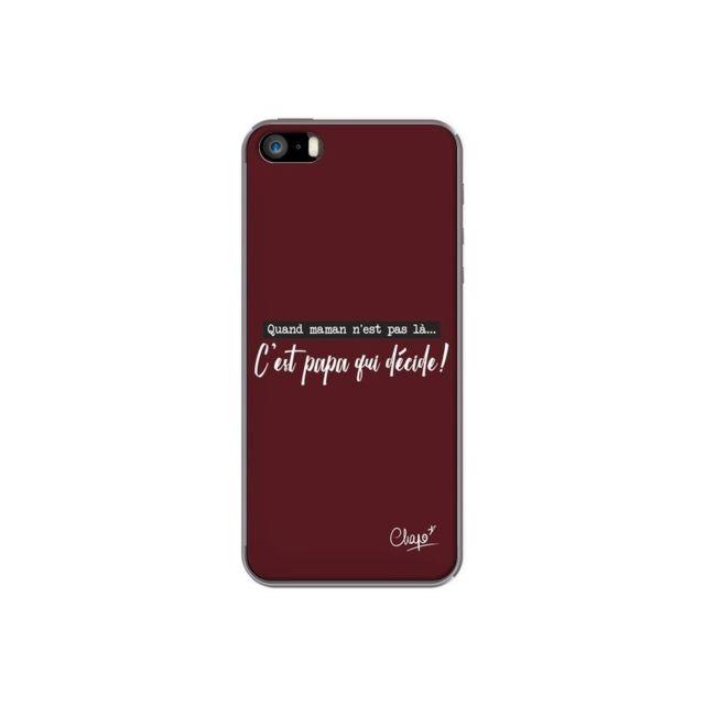 coque iphone 5 apple rouge