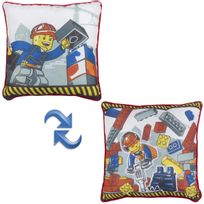 Character World - Coussin carré Lego City