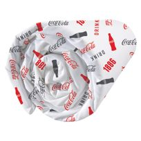 Coca Cola - Drap housse imprimé univers Sport 75% coton 25% polyester