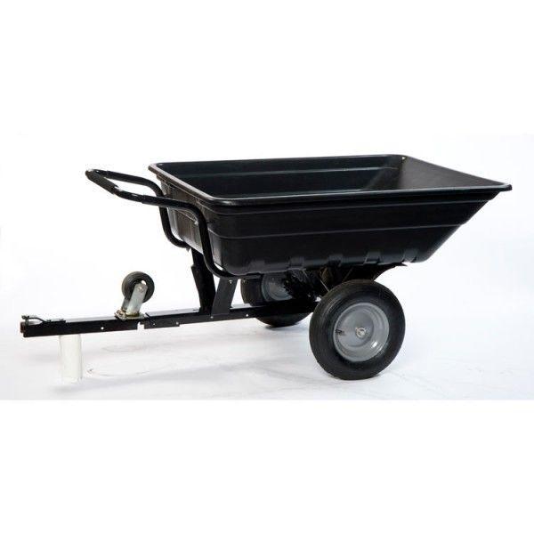 turfmaster remorque brouette basculante 250 kg pour tracteur tondeuse quad pas cher. Black Bedroom Furniture Sets. Home Design Ideas