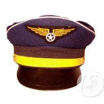 326a126cbcaf Coolminiprix - Lot de 12 - Casquette aviateur luxe bleu marine - Qualité