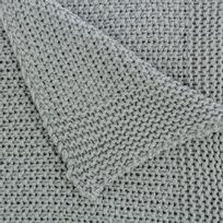 plaid en tricot achat plaid en tricot pas cher rue du commerce. Black Bedroom Furniture Sets. Home Design Ideas