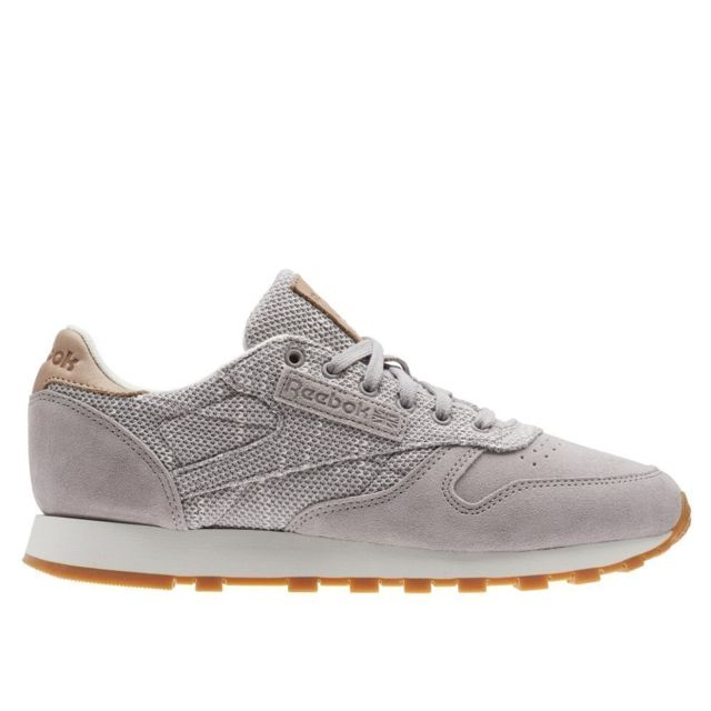 Reebok Classic Leather Ebk Whisper Grey pas cher Achat