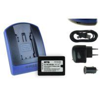 mtb more energy® - Batterie + Chargeur USB, Vw-vbk360 pour Panasonic Sdr-s45, S50, S70, S71, T50