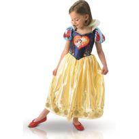 Disney - Costume Blanche Neige Enfant - Love Heart - Taille : 3-4 ans 94 à 108 cm