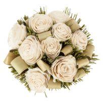 bouquet fleurs sechees achat bouquet fleurs sechees pas cher rue du commerce. Black Bedroom Furniture Sets. Home Design Ideas