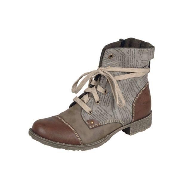Rieker - Rieker-70822-BOOTS-BRUN. Description  Fiche technique. Chaussures  pour femme ... 61307b16038c