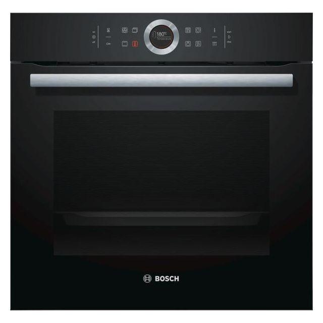 Bosch four intégrable 71l 60cm a+ pyrolyse noir - hbg675bb1f
