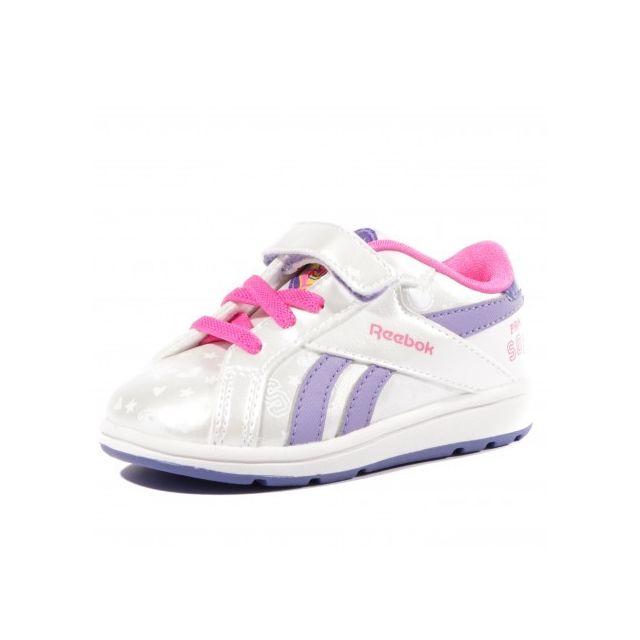 0c4e0767902cc Reebok - Sofia Court Low Bb Gri - Chaussures Bébé Fille - pas cher .