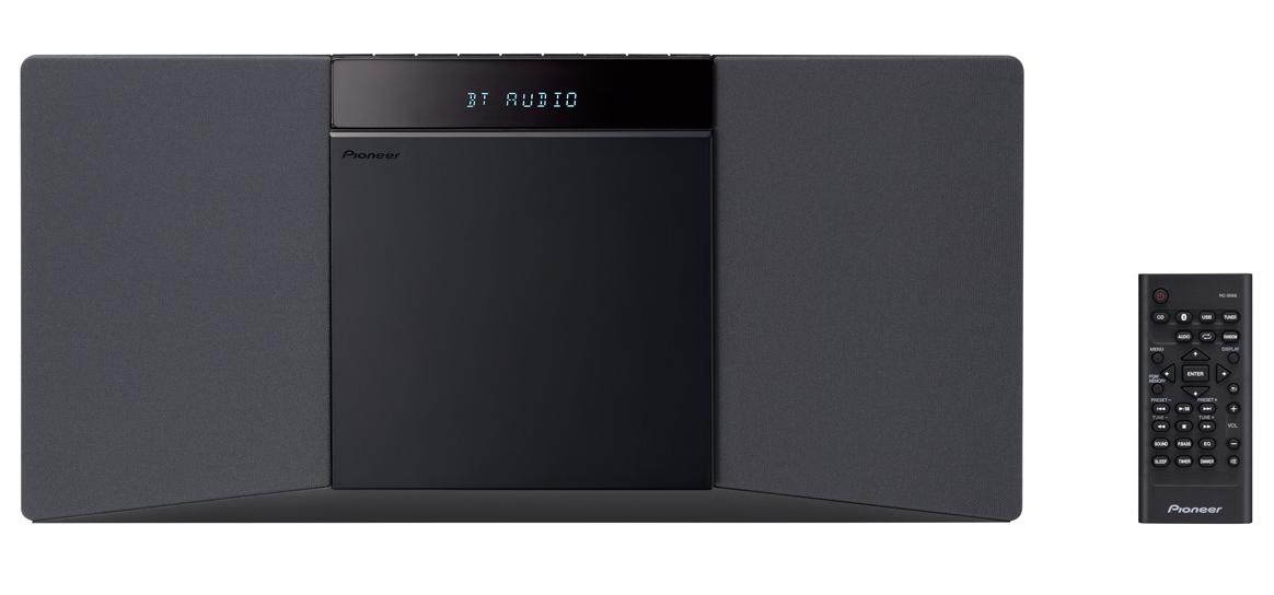 Micro chaine CD Slim - X-SMC02 - Noir