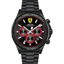 Ferrari Montres - Montre 0830390 - Montre Chronographe Acier Noir Homme