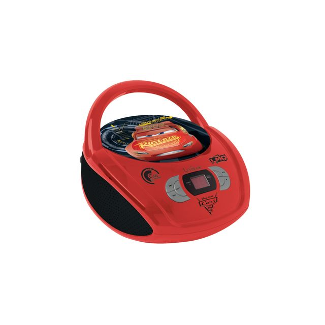 Radio CD Boombox RCD108 Rouge