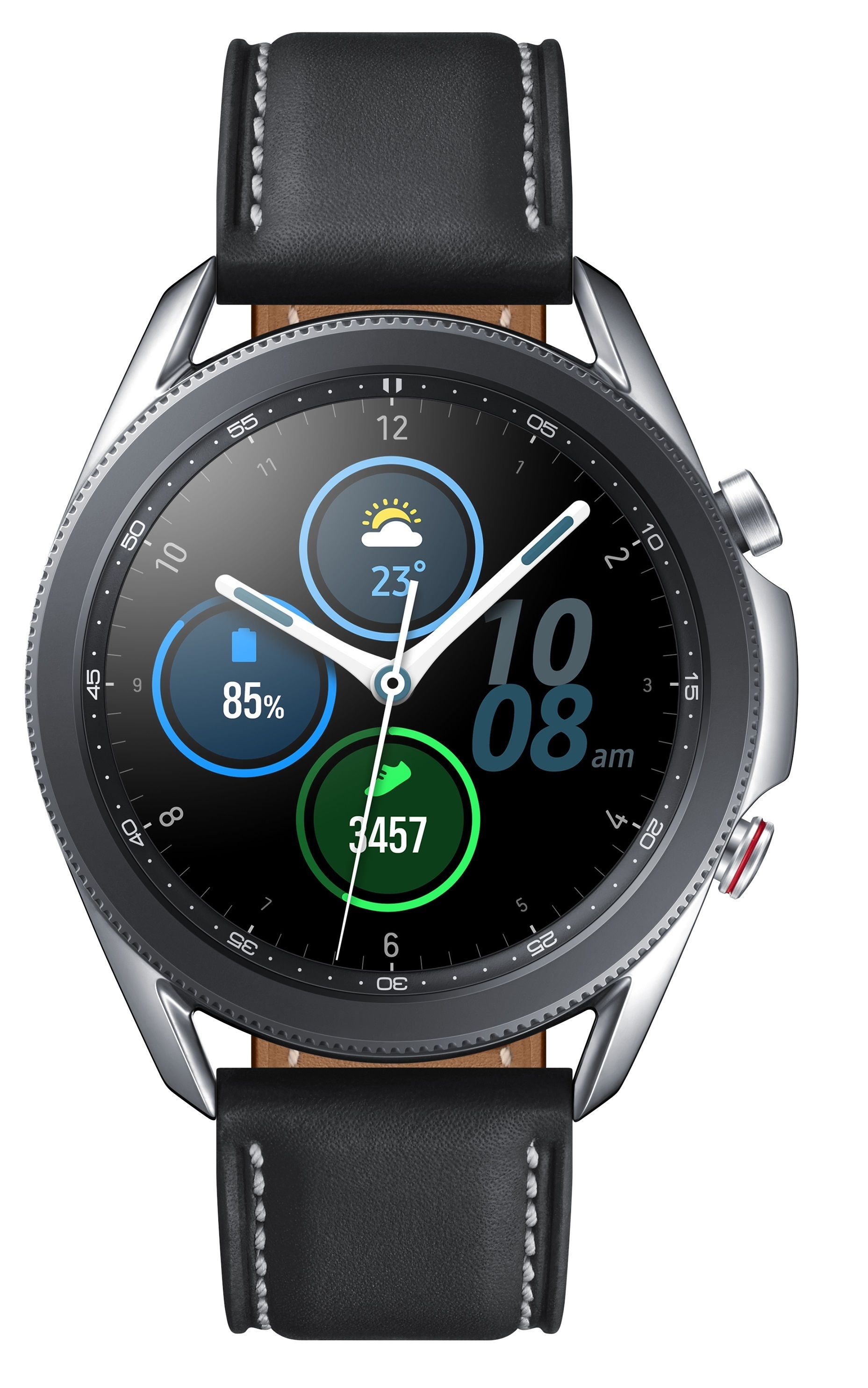 Montre connectée Galaxy Watch 3 SM-R840 4G 45 mm Samsung Argent