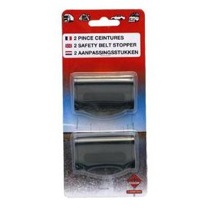 adnautomid 2 pince ceinture pour ceinture de securite pas cher achat vente fourreaux de. Black Bedroom Furniture Sets. Home Design Ideas