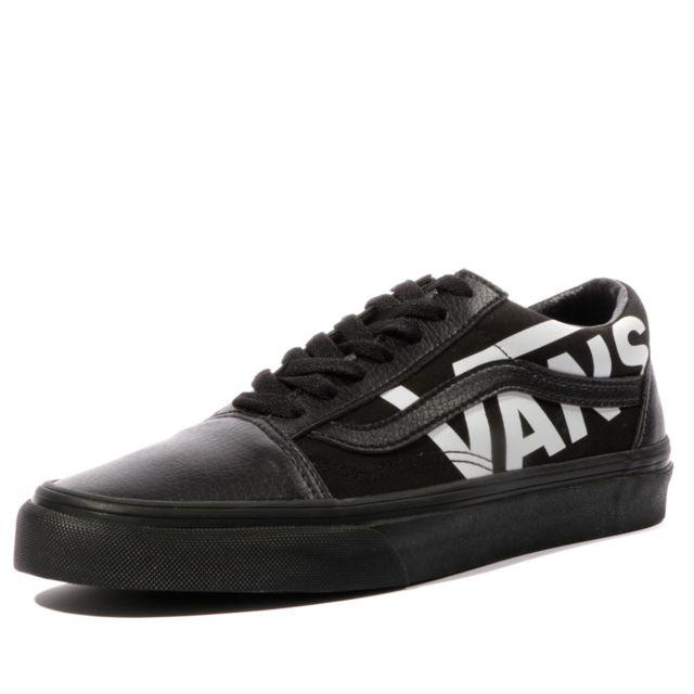 vans noir femme old skool