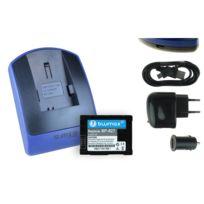 mtb more energy® - Batterie + Chargeur USB, Bp-827 pour Canon Vixia Hf M40, M41, M300, M400