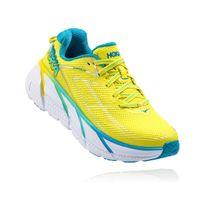 Hoka One One - Clifton 3 Jaune Et Bleue Chaussures de running femme