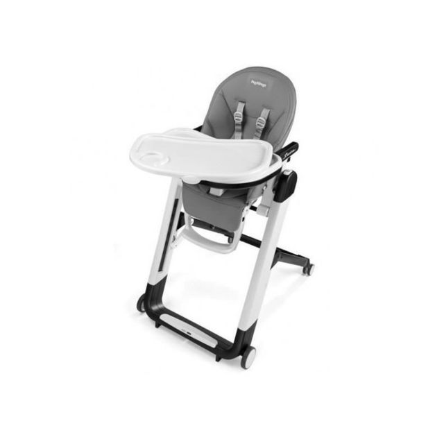 marque generique peg perego chaise haute siesta coloris gris clair pas cher achat vente. Black Bedroom Furniture Sets. Home Design Ideas