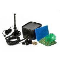 Ubbink - Kit de filtration complet pour bassin BioPure 2000 BasicSet incl. Elimax 1000 - couvercle perforé