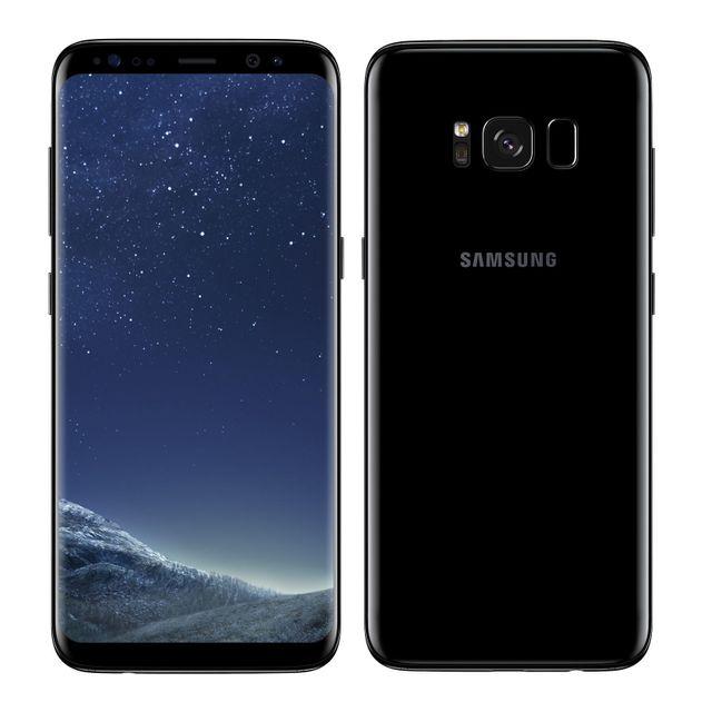 77a648732b782 Samsung Galaxy S8 - 64 Go - Noir Carbone pas cher - Achat   Vente ...