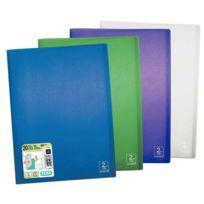 2DE Life - protège-documents en polypropylène 2nd life 20 pochettes, 40 vues