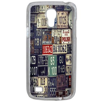 Lapinette - Coque Rigide Plaque Immatriculation Pour Samsung Galaxy S4 Mini