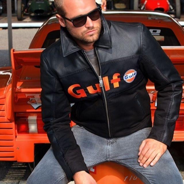 Blouson moto gulf