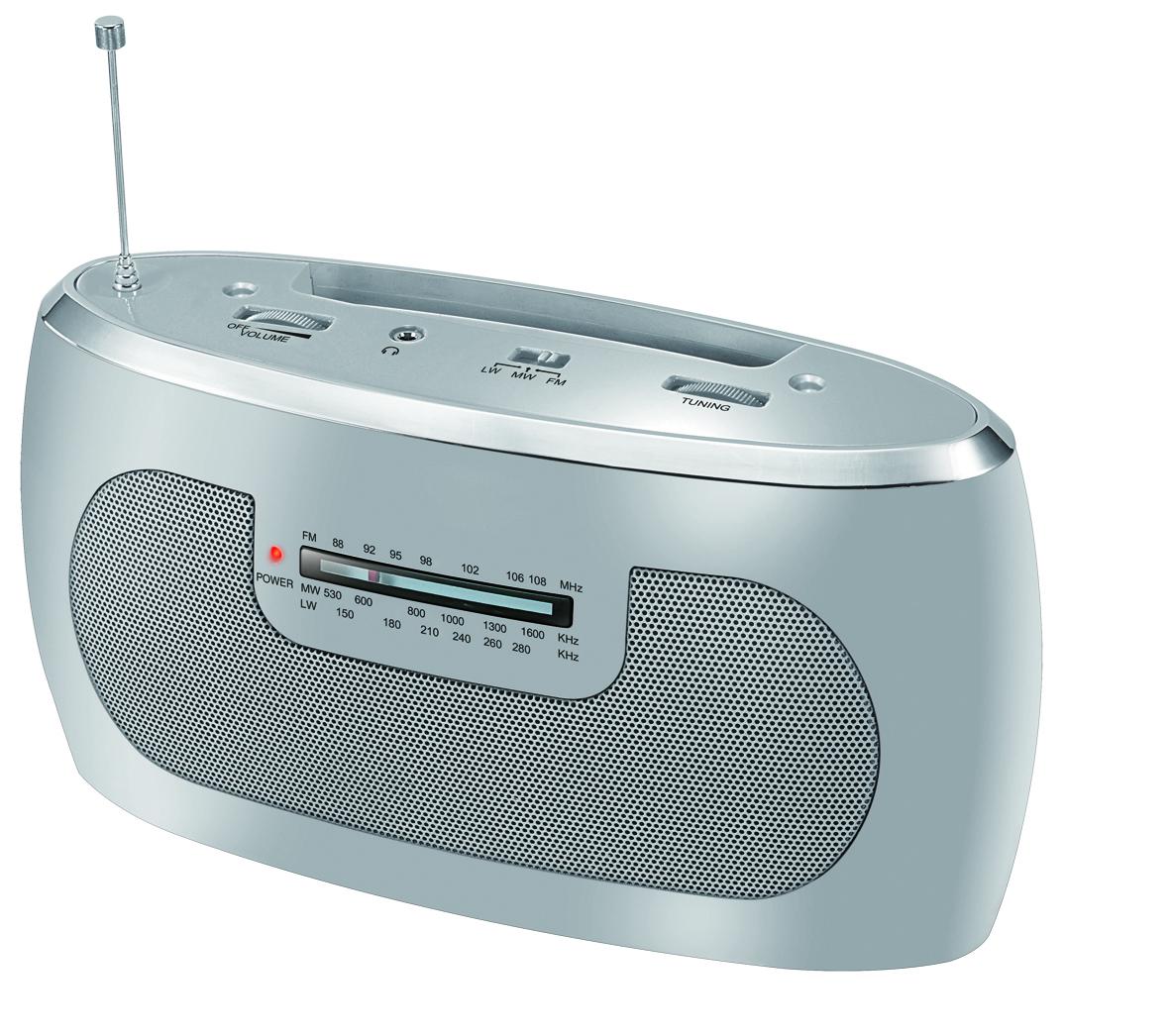 CARREFOUR Radio portable - BPR50 - Gris