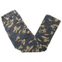 Story-jeans - Pantalon Story jeans Superstar kaki army Noir 44082