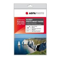 Agfa - Papier photo A4 21x29.7cm 180g/m2 - 20 feuilles - Everyday Glossy