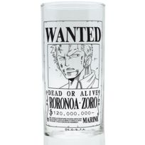One Piece - Verre Zoro Wanted
