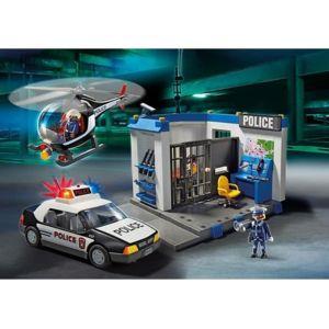 playmobil 5607 poste de police pas cher achat vente playmobil rueducommerce. Black Bedroom Furniture Sets. Home Design Ideas
