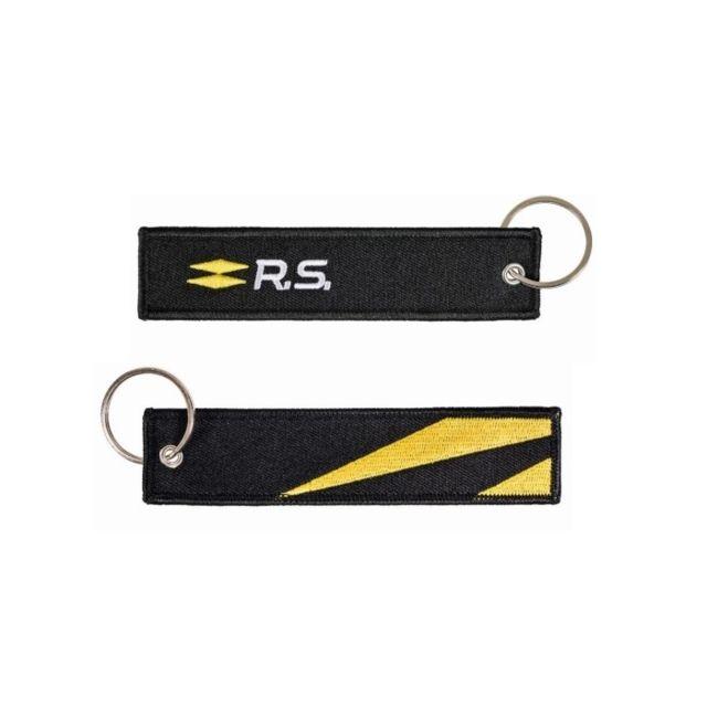 renault sport porte cl s rs logo noir pas cher achat vente porte cl s rueducommerce. Black Bedroom Furniture Sets. Home Design Ideas