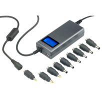 MaxInPower - Adaptateur secteur universel 8-en-1 automatique - 120W