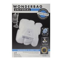 WONDERBAG - Sacs aspirateur Allergy Care - Qté 4