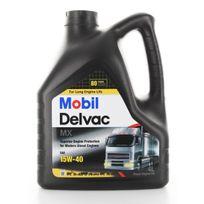 Mobil - Huile Moteur Poids Lourd Delvac Mx 15W40 - Bidon de 4 L