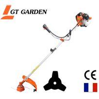 Gt Garden - Débroussailleuse thermique, 52 cm3, 3 Cv