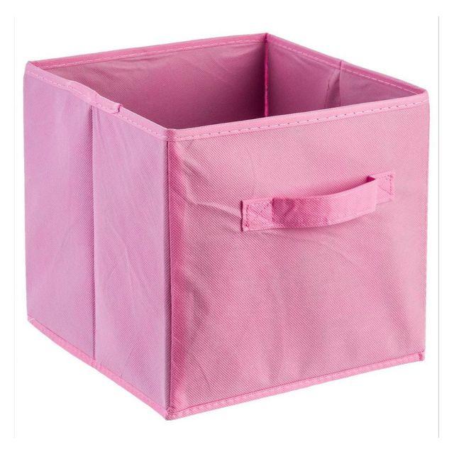 Jja - Bac de rangement rose