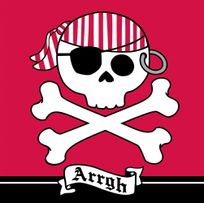 Creative Party - Serviettes Pirate Party x16