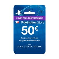 Playstation Network Live Card 50