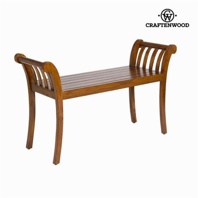 Craftenwood Banc couleur noyer - Collection Let's Deco by