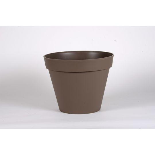 """Pot """"Toscane"""" - Taupe."""