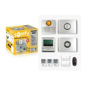 somfy pack alarme sans fil protexiom 600 pas cher. Black Bedroom Furniture Sets. Home Design Ideas