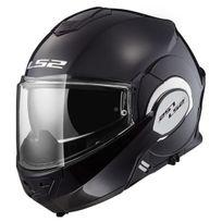 Ls2 - casque intégral modulable en jet Ff399 Valiant moto scooter noir mat L