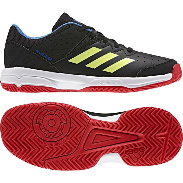 size 40 81e06 2ad59 Adidas - Chaussures junior Court Stabil Jr - pas cher Achat   Vente  Chaussures hand - RueDuCommerce