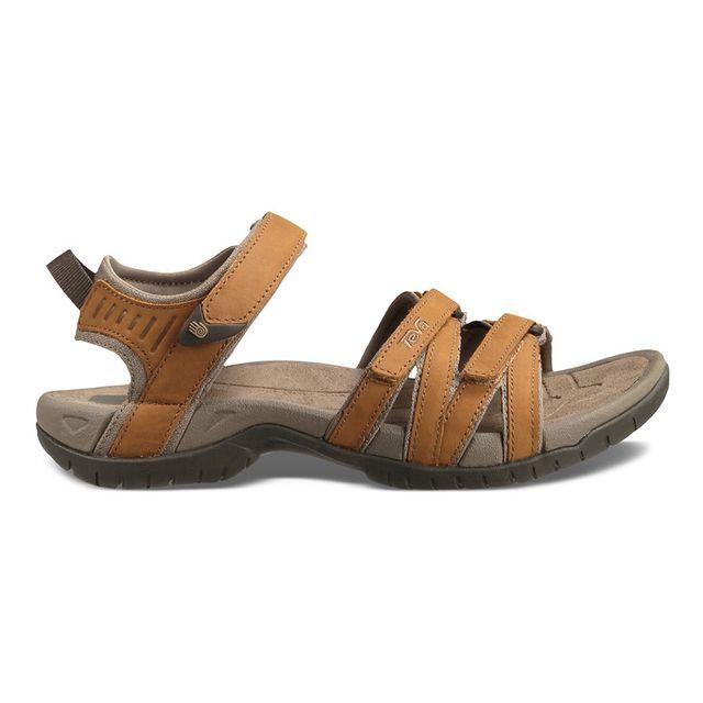 58d1ca0f103 Teva - Sandales Tirra Leather marron femme - pas cher Achat   Vente Sandales  de marche - RueDuCommerce