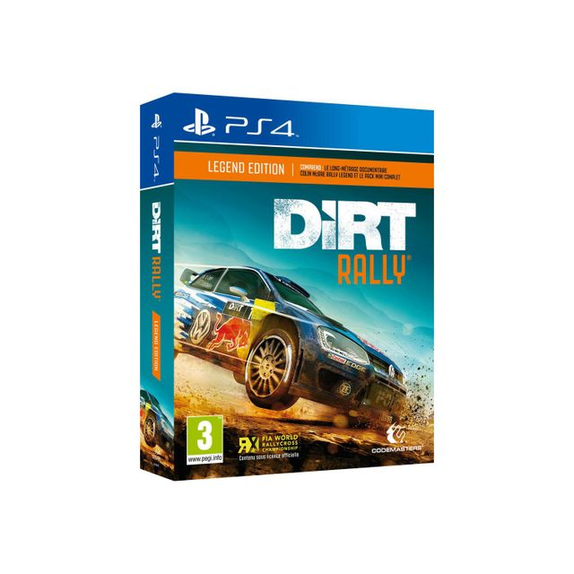 dirt rally legend edition ps4 achat jeux ps4 course. Black Bedroom Furniture Sets. Home Design Ideas