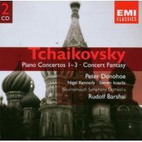 Emi Mktg - TchaÏKOVSKI - Concertos Pour Piano N°1 À 3 Fantaisie De Concert Op.56 2CD Coffret De 2 Cd